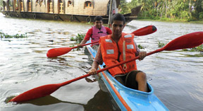 Kerala Village Kayaking